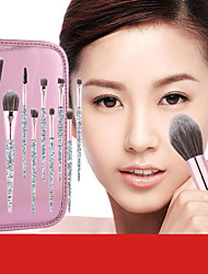 cheap -10 Crystal Makeup Brushes Face Modification Makeup Tools Blush Eye Shadow Brushes