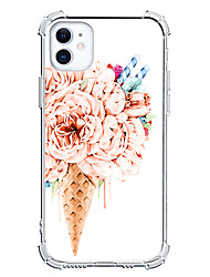 cheap -Ice Cream Case For Apple iPhone 12 iPhone 11 iPhone 12 Pro Max Unique Design Protective Case Shockproof Back Cover TPU