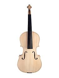 cheap -NAOMI Unfinished Violin 3/4 Size Violin Maple Body W/ Ebony Fingerboard Violin Parts Accessories New