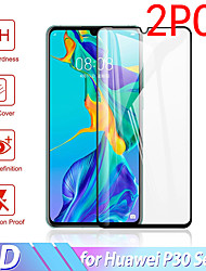 cheap -2PCS Huawei Screen Protector Huawei P40 Pro / P30 Lite / P20 / P10 / P9 / P8 Lite 2017 / P Smart High Definition (HD) Front Screen Protector Tempered Glass Second-Generation Enhanced Screen Printing