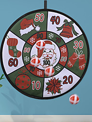 cheap -Christmas Decorations Christmas Toy Ball Dart Board Creative New Children's Toy Dart Board Gift