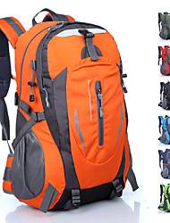 cheap -30 L Rucksack Rain Waterproof Wearable Sweat-Wicking Outdoor Climbing Camping Nylon Black Red Blue