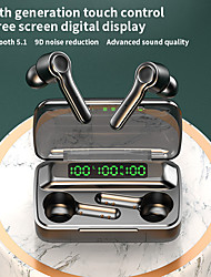 cheap -R9S Wireless Earbuds TWS Headphones Bluetooth5.0 Stereo with Volume Control with Charging Box Mobile Power for Smartphones Smart Touch Control for Mobile Phone