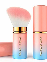 cheap -retractable eye shadow foundation face makeup brushes concealer eyeliner lip powder handle eyeshadow cosmetic foundation blending blush multifunctional makeup tools valentine's day gift set