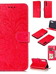 cheap -Phone Case For LG K61 G9 Stylo 6 K51S K50 K41S Card Holder Flip Magnetic Full Body Cases Flower leather