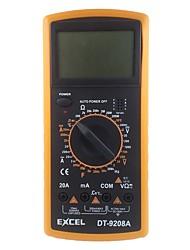 cheap -Digital Multimeter DC AC Voltage Current Resistance Capacitance Temperature Frequency Meter Tester EXCEL DT9208A Multimeters