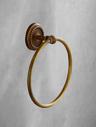 cheap -Robe Hook Premium Design Antique Brass 1pc towel ring Wall Mounted
