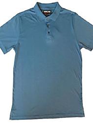 cheap -men's supima cotton polo shirt (medium, riviera blue)