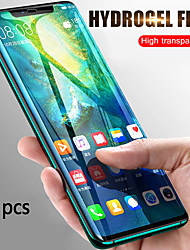 cheap -HuaweiScreen ProtectorHuawei P20 High Definition (HD) Front Screen Protector 5 pcs Tempered Glass