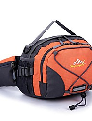 cheap -- sports bag, waterproof running belt bum waist pouch fanny pack camping sport hiking shoulder bag (orange)
