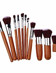 cheap -makeup palettes 11pcs foundation concealer blusher eyeshadow face eye beauty makeup brushes set