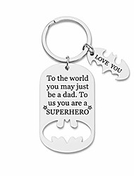 cheap -fathers day gifts dad birthday keychain for daddy step dad to be husband from daughter son wife kids i love you key ring father of the bride step father figure wedding anniversary men him