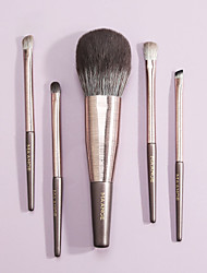 cheap -New 5 Makeup Brushes Set Beauty Tools Makeup Brush Set Full Set of Beauty Tools Facial Brushes