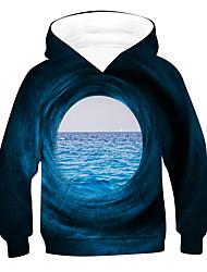 cheap -Kids Boys' Hoodie & Sweatshirt Long Sleeve 3D Black Children Tops Active