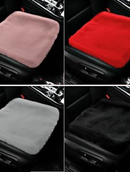 cheap -Car Plush Warm Seat Cover Winter Auto Seat Cushion Comfortable And Warm Seat Cover For Most Models Of Car Interior Accessories