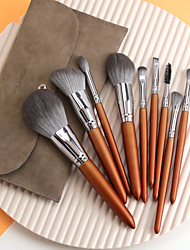 cheap -New 12 Makeup Brushes with Brush Bag Makeup Brush Set Beauty Tools