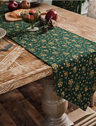cheap -Christmas Red Wind Chimes Table Runner Gilding