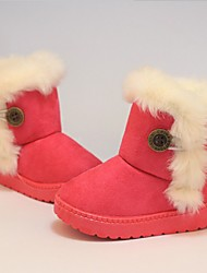 cheap -Girls' Casual / Daily Snow Boots Toddler(9m-4ys) Little Kids(4-7ys) Big Kids(7years +) Snow Sports Pink Rose Red Beige