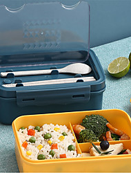 cheap -1Pc Japanese-style Lunch Box Student Adult Office Worker Portable Lunch Box