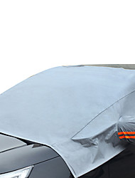 cheap -R-3909-1 Car Windshield Snow Cover for Car Front Windscreen Ice Cover Protector Waterproof Car Windshield Sun Shade Half Car Cover with Hook and Straps Fit Most Car SUV Truck Van