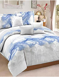 cheap -Ink Painting Print 3-Piece Duvet Cover Set Hotel Bedding Sets Comforter Cover with Soft Lightweight Microfiber ,Full/Queen/King(Include 1 Duvet Cover and 1or 2 Pillowcases)