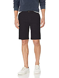 """cheap -amazon brand - men& #39;s 11"""" inseam stretch seersucker short, black 34"""