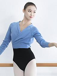 cheap -Ballet Top Bandage Women's Training Performance Long Sleeve Natural Knit