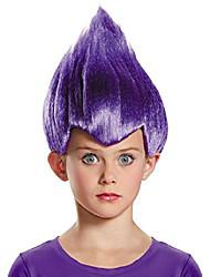 cheap -child purple wacky wig standard