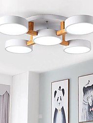 cheap -79 cm LED Ceiling Light Nordic Desgin Flush Mount Lights Wood Painted Finishes Modern 110-120V 220-240V