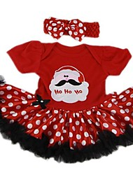 cheap -Reborn Baby Dolls Clothes Reborn Doll Accesories Fabrics for 22-24 Inch Reborn Doll Not Include Reborn Doll Christmas Santa Claus Soft Pure Handmade Girls' 2 pcs