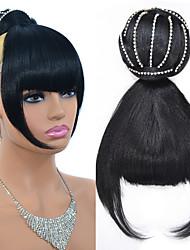 cheap -Hair Tie / Hair Accessory / Bundle Hair Hair Bun Sexy Lady / Adorable / Best Quality Clip In Synthetic Hair Hair Piece Hair Extension Natural Black #1B