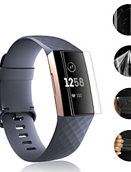 cheap -5pcs Clear Soft TPU Protective Film Screen Protector Full Cover Hydrogel film Watch Accessories Fitbit Charge 4 3 2