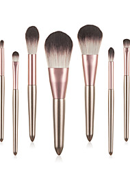 cheap -Professional Makeup Brushes 9pcs Professional Soft Full Coverage Adorable Comfy Wooden / Bamboo for Makeup Tools Blush Brush Foundation Brush Makeup Brush Eyebrow Brush Eyeshadow Brush