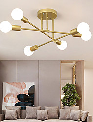 cheap -70 cm Sputnik Design Nordic Style Ceiling Light Flush Mount Metal Industrial Mismatched Painted Finishes Contemporary Traditional Classic 110-120V 220-240V