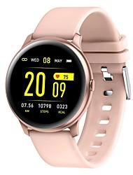 cheap -KW19Pro 1.3inch Full Touch Smart Watch Waterproof Fitness Track Sport Bracelet Women Smartwatch Men Smart Band Smart Bracelet