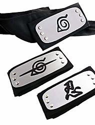 cheap -naruto headband, naruto cosplay headband naruto leaf and anti leaf village ninja headband ninja kakashi cosplay accessories