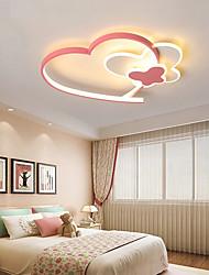 cheap -40/50 cm Heart Shape Cartoon Style Ceiling Lamp Pink Love Girl Bedroom Lamp Home Lighting Decoration Ceiling Lamp