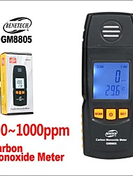 cheap -BENETECH Gas Analyzer Air Quality Monitor Handheld Digital Co Monitor Tester Carbon Monoxide Detector GM8805 CO Gas Monitor