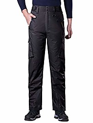 cheap -Hiking Pants Trousers Winter Outdoor Cargo Pants Bottoms Navy Support one batch Black off Black Camping / Hiking Hunting Fishing 160 (waist circumference 2.1-2.3 feet) 165 (waist circumference