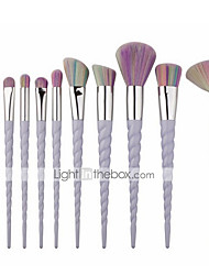 cheap -New 10 unicorn makeup brushes spiral color makeup brush 7 colorful makeup brushes wholesale