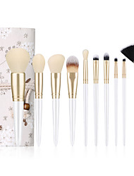 cheap -Factory direct sale 10 makeup brush set small floral dragonfly makeup brush pack eye brush beauty makeup tools