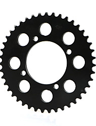 cheap -420-76MM-43T Tooth Rear Sprocket Assembly For the Chinese Made Dirt Pit Bike Mini Motocross With C Style Wheel Rim