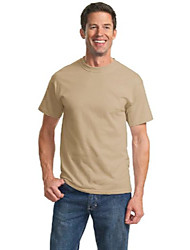 cheap -port & company mens tall essential t-shirt, light sand, large tall