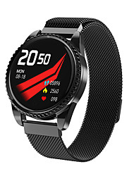cheap -BT01 Unisex Smartwatch Bluetooth Heart Rate Monitor Blood Pressure Measurement Calories Burned Thermometer Health Care Pedometer Sedentary Reminder Temperature Display