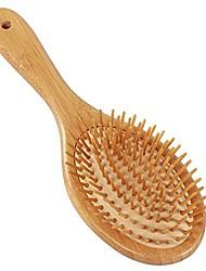 cheap -fani wooden bristle hair brush anti-static paddle hairbrushes
