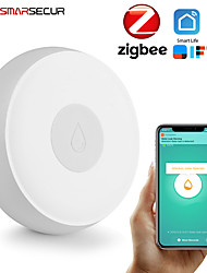 cheap -Wireless Water Immersing Sensor Zigbee Water Leakage Detector for Home Remote Alarm Security Soaking Sensor Smart Home