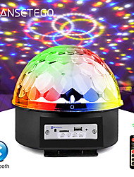 cheap -9 Colors Bluetooth MP3 Led Disco Light Ball Party Light Rotating Stage Lamp DJ Projector Laser Music Play Soundlights Disco Lamp