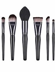 cheap -8pcs wooden handle soft nylon bristles makeup brush cosmetics powder blush brush kit for woman ladies (t-08-003)