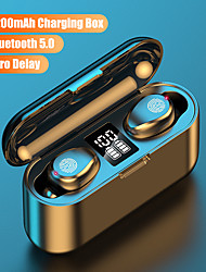 cheap -F9 MINI Wireless Earbuds TWS Headphones Bluetooth5.0 Stereo with Volume Control with Charging Box Mobile Power for Smartphones Smart Touch Control for Mobile Phone
