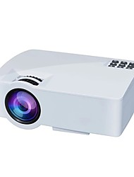 cheap -A8 New Home Projector Teaching Business Projector Mobile Phone Screen 1080P HD Projector Audio And Video Synchronization